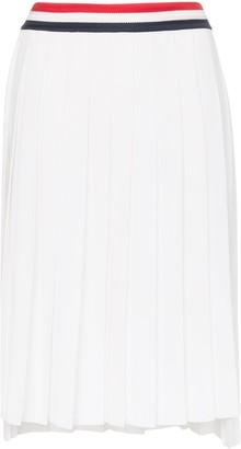 Thom Browne High-Waisted Pleated Skirt