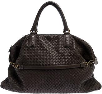 Bottega Veneta Brown Intrecciato Nappa Leather Convertible Tote