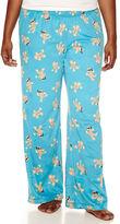 Flirtitude Microfleece Pajama Pants-Juniors Plus