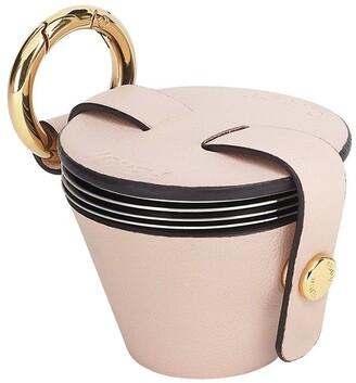 Fendi Cup-Embellished Keyring