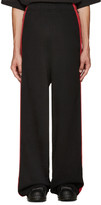 Vetements Black Oversized Lounge Pants