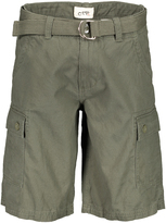 OTB Olive Twill Cargo Shorts & Belt - Men's Regular