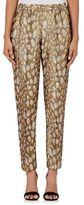 Dries Van Noten Women's Palmira Lamé Pants-GOLD