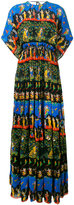 No.21 printed maxi dress - women - Silk/Acetate/Viscose - 40