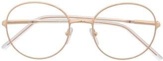 Prada Round Frame Optical Glasses