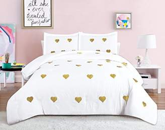 Sequin Hearts Beatrice Home Fashions Comforter Set