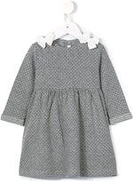 Il Gufo bow detailed knit dress