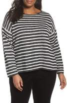 Eileen Fisher Striped Pullover