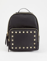 T-Shirt & Jeans Nylon Studded Mini Backpack