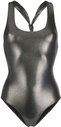 Pinko Metallic Swimsuit