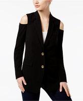 MICHAEL Michael Kors Off-The-Shoulder Blazer