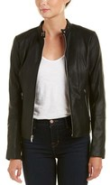 Via Spiga Leather Jacket.