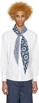 SASQUATCHfabrix. White Scarf Shirt