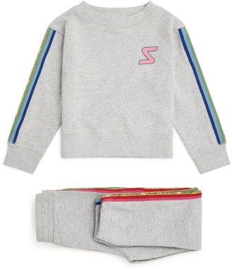 Stella McCartney Logo Tape Tracksuit Set