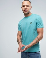 Lyle & Scott Eagle Logo T-shirt Regular Fit In Green Marl