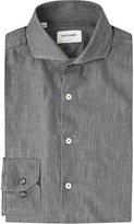 Duchamp Tailored-fit Denim (blue) Shirt