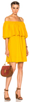 Apiece Apart Piper Petal Dress in Yellow.