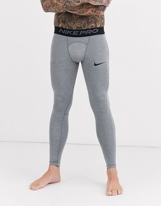 Nike Training Pro Training tights in grey