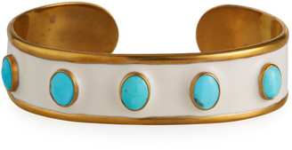 Dina Mackney Turquoise Mini Cuff Bracelet