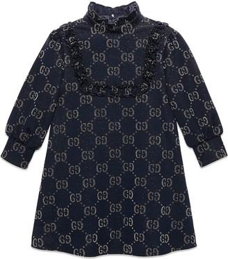 Gucci Kids Children's Jacquard Stripe Dress