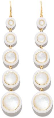 Ippolita 18kt yellow gold Lollipop Carnevale 5-Stone drop earrings