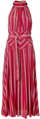 Diane von Furstenberg striped halterneck dress