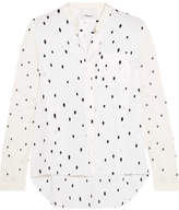 3.1 Phillip Lim Snowbird Printed Silk Crepe De Chine Shirt - Off-white