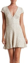 Dress the Population Women's Georgina Sequin Fit & Flare Dress