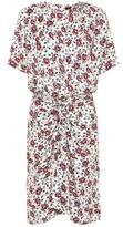Isabel Marant Rehora printed silk dress
