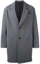 Ami Alexandre Mattiussi patch pockets boxy coat