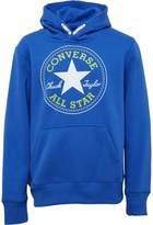 Converse Junior Boys Core Pullover Hoody Oxygen Blue