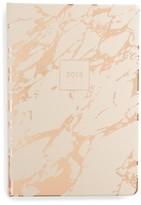Fringe Studio Blush Marble 17-Month Agenda - Pink