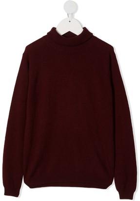 Il Gufo Long-Sleeve Wool Jumper