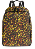 Vivienne Westwood Anglomania Leopard Backpack 190038 Yellow