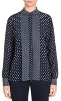 Stella McCartney Angela Dog-Print Blouse