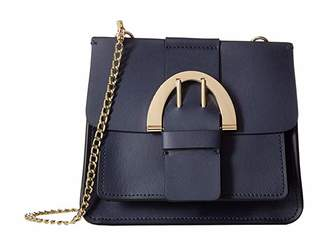 Zac Posen Buckle Chain Crossbody