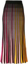 Kenzo knitted stripe skirt