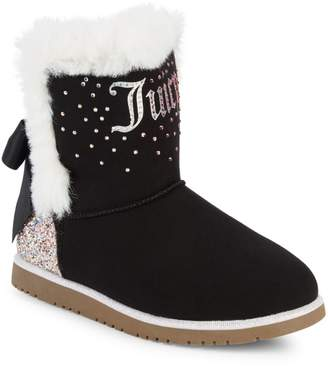 Juicy Couture Girl's Faux Fur-Lined Winter Boots