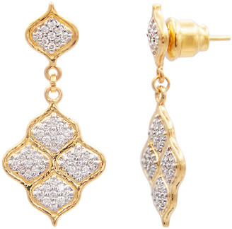 Gurhan Diamond Pave Trellis Earrings