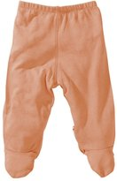 Baby Soy Footie Pants (Baby) - Cantaloupe-3-6 Months