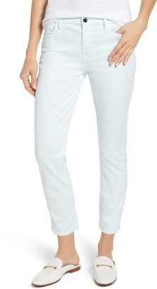 JEN7 by 7 For All Mankind Sateen Ankle Skinny Jeans