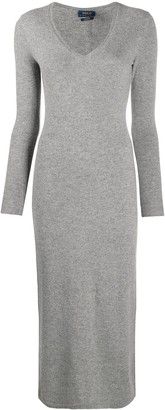 Polo Ralph Lauren V-neck cashmere dress