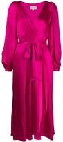 Temperley London wrap-effect dress