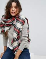 Polo Ralph Lauren Checked Wool Shawl Scarf