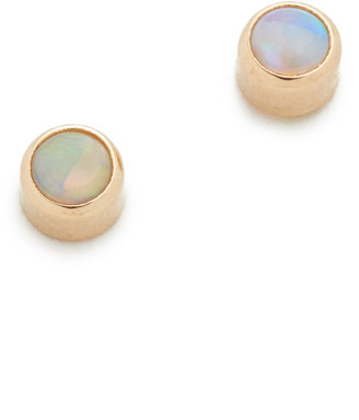 Zoë Chicco 14k Gold Opal Gemstones Stud Earrings