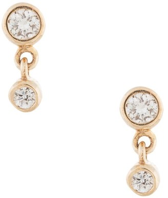 Sarah & Sebastian 10kt yellow gold diamond Paradox earrings