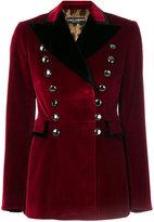 Dolce & Gabbana military blazer - women - Cotton/Polyester/Spandex/Elastane - 40