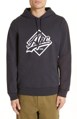 A.P.C. Designer Wayne Logo Hoodie