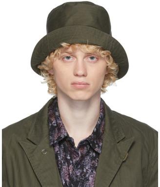 Engineered Garments Khaki Twill Bucket Hat