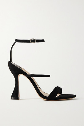 Sophia Webster Rosalind Marie Suede Sandals - Black